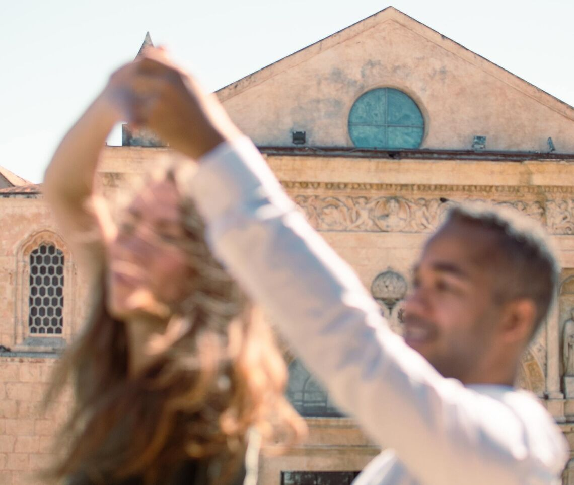 dominican republic couple dancing